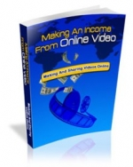 Making An Income From Online Video eBook with Master Resale Rights