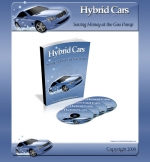 Hybrid Cars Minisite Template with Personal Use Rights
