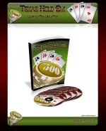 Texas Hold Em Minisite Template with Personal Use Rights