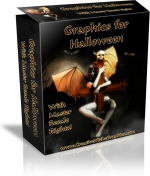 Halloween Minisite Template with Master Resale Rights