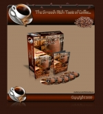 Coffee Minisite Template with Resale Rights