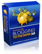Blogging To The Bank 3.0 - Presell Template Template with Personal Use Rights