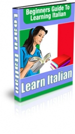 Learning Italian eBook with private label rights