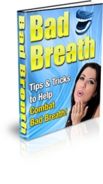 Bad Breath eBook with Private Label Rights
