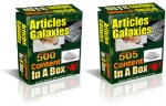 Articles Galaxies : 1005 PLR Articles Pack Gold Article with Private Label Rights