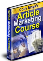 Article Marketing Course eBook with Master Resale Rights