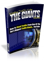 Stealing Traffic From The Giants : Volume 1 eBook with Master Resale Rights