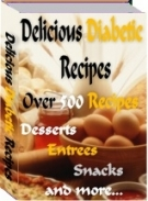 Delicious Diabetic Recipes eBook with Resell Rights