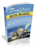Profiting With Words eBook with Master Resale Rights