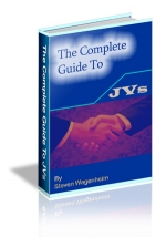 The Complete Guide To JVs eBook with Private Label Rights