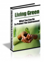 Living Green eBook with Private Label Rights