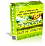 15 Minute Lead PG. Creator eBook with Private Label Rights