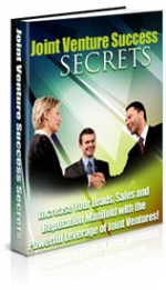 Joint Venture Success Secrets eBook with Master Resale Rights