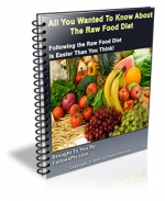 All You Wanted To Know About The Raw Food Diet eBook with private label rights