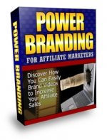 Power Branding For Affiliate Marketers Video with Master Resale Rights