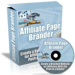 Affiliate Page Brander Video with Private Label Rights
