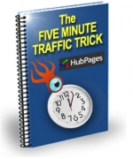 The Five Minute Traffic Trick eBook with Private Label Rights