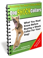 Dog Shock Collars eBook with Master Resale Rights