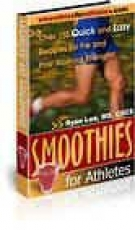 Smoothies for Athletes eBook with Resell Rights