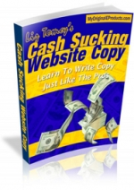 Cash Sucking Website Copy eBook with Master Resale Rights