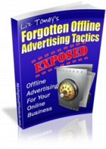 Forgotten Offline Advertising Tactics eBook with Master Resale Rights