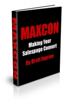 MAXCON : Making Your Salespage Convert eBook with Master Resale Rights
