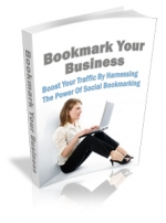Bookmark Your Business eBook with Master Resale Rights