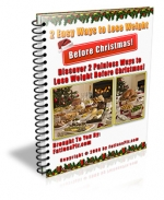 2 Easy Ways To Lose Weight Before Christmas eBook with Master Resale Rights