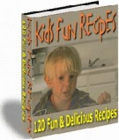 Kids Fun Recipes eBook with Resell Rights
