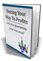 Testing Your Way To Profits eBook with Master Resale Rights