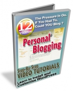 Personal Blogging Video with Master Resale Rights