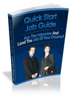 Quick Start Job Hunting Guide eBook with Private Label Rights