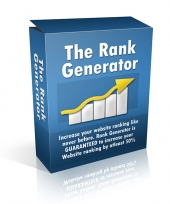 The Rank Generator Software with Private Label Rights