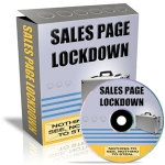 Sales Page Lockdown Software with Private Label Rights