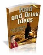 Food And Drink Ideas eBook with Master Resale Rights