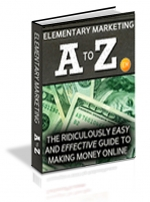 Elementary Marketing A to Z eBook with Master Resale Rights