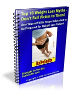 Top 10 Weight Loss Myths eBook with Master Resale Rights