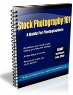 Stock Photography 101 eBook with Giveaway Rights