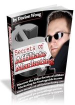 Secrets Of Affiliate Marketing eBook with Personal Use Rights