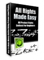 All Rights Made Easy eBook with Master Resale Rights