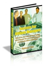 Success For Affiliate Managers eBook with Master Resale Rights