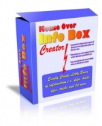Mouse Over Info Box Creator Software with Personal Use Rights