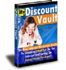 My Discount Vault eBook with Resell Rights
