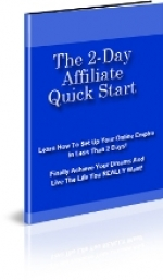 The 2-Day Affiliate Quick Start eBook with Private Label Rights