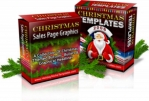 Christmas Sales Page Graphics & Templates Graphic with Master Resale Rights