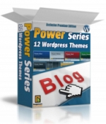 Power Series 12 Wordpress Themes Graphic with Master Resale Rights
