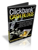 Clickbank Cash Blogs Video with Master Resale Rights