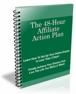 The 48-Hour Affiliate Action Plan eBook with Private Label Rights