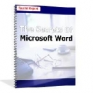 The Secrets Of Microsoft Word eBook with Resell Rights