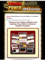 Turbo Power Graphics - 2009 Exclusive Graphic with Master Resale Rights